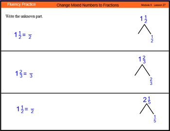 Engage New York Math Grade 4 Module 5 Lesson 27 Smart Note