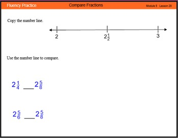 Engage New York Math Grade 4 Module 5 Lesson 28-29 Smart Notebook File
