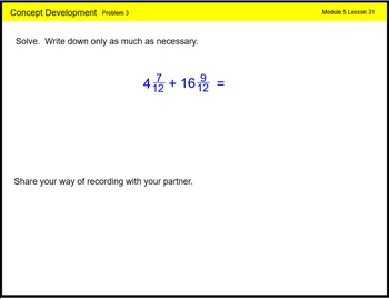 Engage New York Math Grade 4 Module 5 Lesson 31 Smart Notebook File