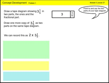 Engage New York Math Grade 4 Module 5 Lesson 37 Smart Notebook File