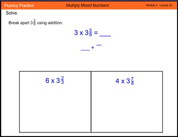 Engage New York Math Grade 4 Module 5 Lesson 39 Smart Notebook File