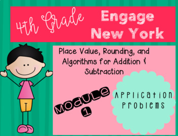 Engage New York Grade 4 Module 1 Application Problems