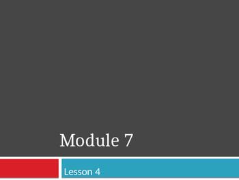 Engage New York Grade 4 Module 7 Lesson 4