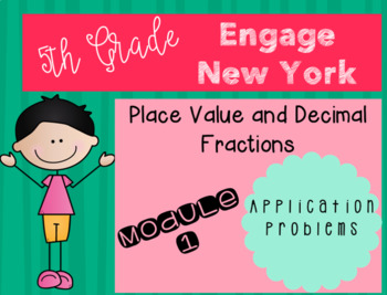 Engage New York Grade 5 Module 1 Application Problems