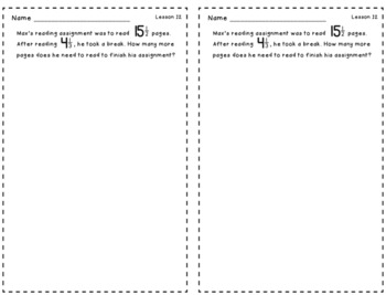 Engage New York Grade 5 Module 3 Application Problems