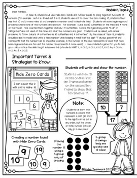 Engage New York Letters and Games: Kindergarten, Module 5 in English and Spanish