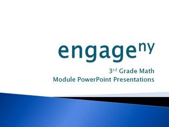 Engage New York Math 3rd Grade COMPLETE BUNDLE