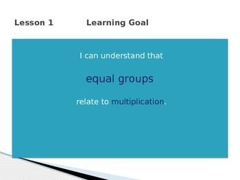 Engage New York Math 3rd Grade Module 1 Lesson 1 PowerPoint