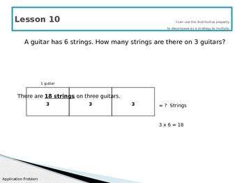 Engage New York Math 3rd Grade Module 1 PowerPoint