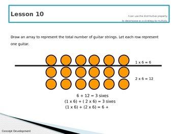 Engage New York Math 3rd Grade Module 1 PowerPoint