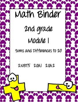Engage New York Math Binder Covers 2nd Grade