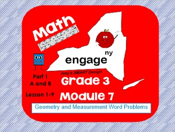 Engage New York Math Grade 3 Module 7AB SMART Board