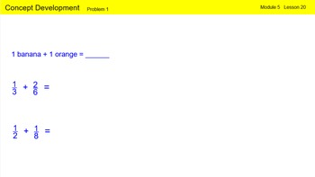 Engage New York Math Grade 4 Module 5 Lesson 20 Smart Notebook File