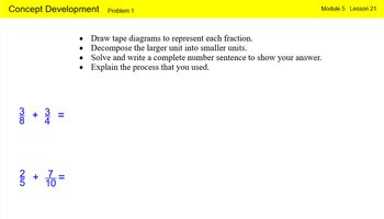 Engage New York Math Grade 4 Module 5 Lesson 21 Smart Notebook File