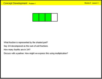 Engage New York Math Grade 4 Module 5 Lesson 3 Smart Notebook File