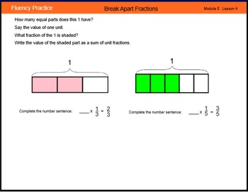 Engage New York Math Grade 4 Module 5 Lesson 4 Smart Notebook File