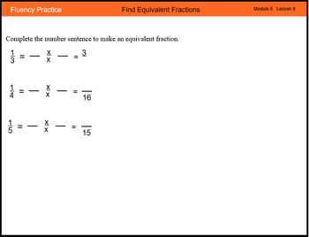 Engage New York Math Grade 4 Module 5 Lesson 9 Smart Notebook File