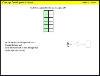 Engage New York Math Grade 4 Module 5 Lesson 9 Smart Noteb