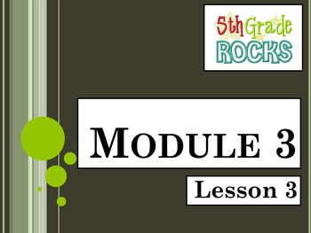Engage New York Math Grade 5 All 16 Modules for Module 3