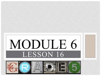 Engage New York Math Grade 5 All 34 Lessons Module 6