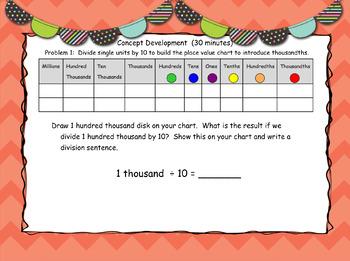 Engage New York (Eureka) Grade 5-Module 1 Lesson 1 SMART Notebook