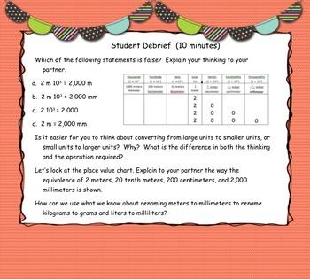Engage New York (Eureka) Math Grade 5-Module 1 Lesson 4 SMART Notebook