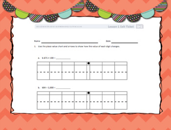 Engage New York (Eureka) Math Grade 5-Module 1 Topic A SMART Notebook