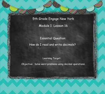 Engage New York (Eureka) Math Grade 5-Module 1 Topic F SMART Notebook