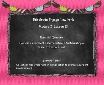 Engage New York (Eureka) Math Grade 5-Module 2 Topic D SMART Notebook