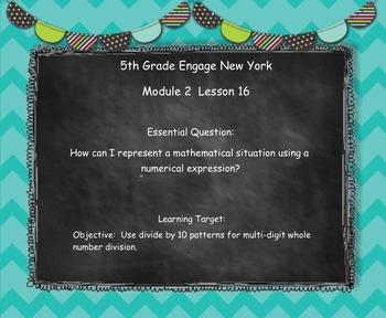 Engage New York (Eureka) Grade 5-Module 2 Topic E SMART Notebook