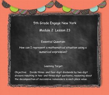 Engage New York (Eureka) Grade 5-Module 2 Topic F SMART Notebook