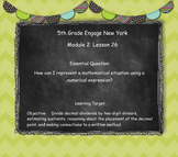 Engage New York (Eureka) Math Grade 5-Module 2 Topic G SMART Notebook