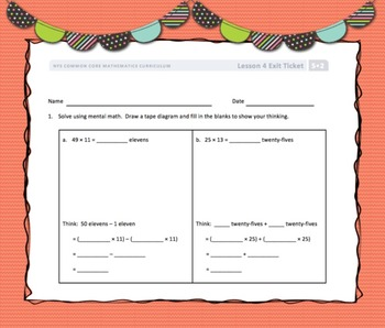 Engage New York (Eureka) Math Grade 5-Module 2 Topic B SMART Notebook