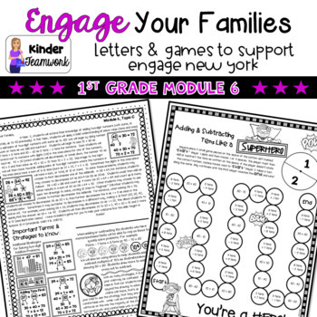 Engage New York Math Letters and Games: First Grade, Module 6