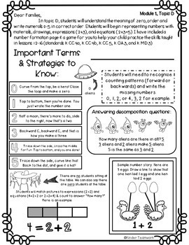 Engage New York Math Letters and Games: Kindergarten, Module 1