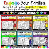 Engage New York Math Letters and Games for First Grade {a
