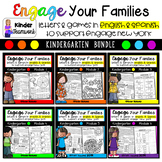 Engage New York Math Letters and Games for Kindergarten {M