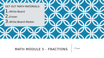 Engage New York Math Module 5 -  Fractions