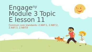 Engage New York Module 3 topic E lesson 11
