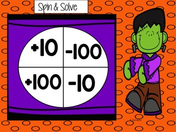 Eureka Math SPIN ME AROUND (Centers with Spinners)