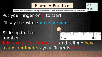 Engage New York Second Grade Math Module 3 Lesson 1 Fluency Practice