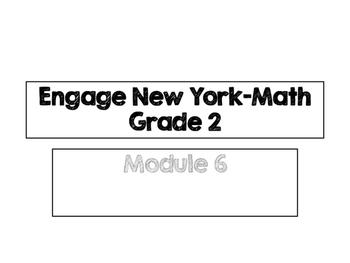Engage New York Vocabulary Cards, Grade 2, Module 6