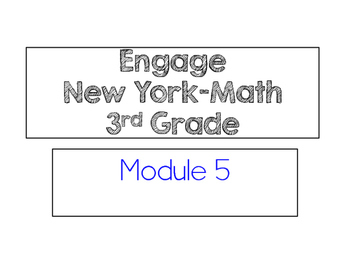 Engage New York Vocabulary Cards, Grade 3, Module 5