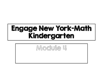 Engage New York Vocabulary Cards, Kindergarten, Module 4