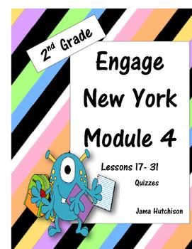 Engage New York (aka Eureka Math) 2nd Grade Module 4 Bundl