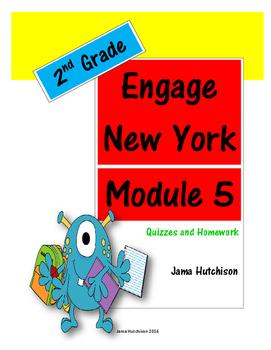 Engage New York (aka Eureka Math) 2nd Grade Module 5 Bundle