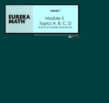 Engage New York and Eureka Math Grade 1 Module 5 BUNDLE