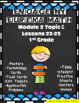 Engage Ny {Eureka} Math Module 2 Topic C Lessons 22-25 First Grade