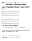 Engage Ny Grade 5 Math Module 1, Topic A Review & HW Works