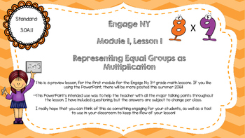 Engage Ny Module 1 PowerPoint